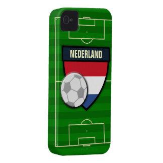 Fútbol de Nederland Países Bajos Case-Mate iPhone 4 Carcasa