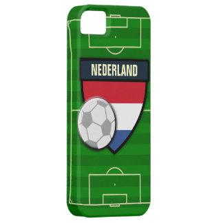 Fútbol de Nederland Países Bajos iPhone 5 Carcasa