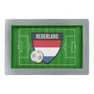 Fútbol de Nederland Países Bajos Hebilla De Cinturón