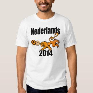 Fútbol de Nederlands Voetbal Oranje 2014 Países Playeras