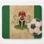 Fútbol de Nigeria del vintage Tapetes De Raton