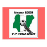 Fútbol de Nigeria Postales