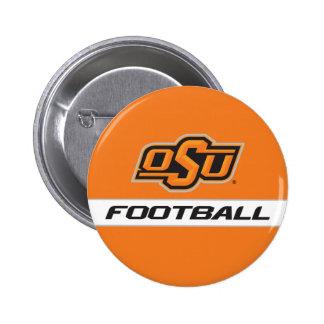 Fútbol de OSU Pin Redondo De 2 Pulgadas