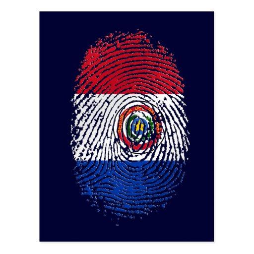 Fútbol de Paraguay Postales