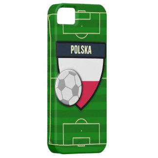Fútbol de Polska Polonia iPhone 5 Funda