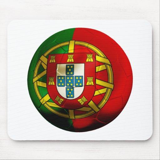 Fútbol de Portugal Alfombrillas De Raton