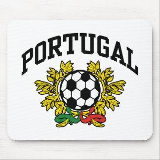 Fútbol de Portugal Alfombrillas De Ratones