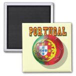 Fútbol de Portugal Imán De Frigorífico