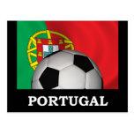 Fútbol de Portugal Tarjetas Postales