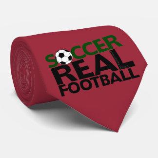 Fútbol de Soccer=Real Corbata Personalizada