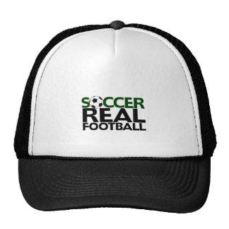 Fútbol de Soccer=Real Gorros Bordados