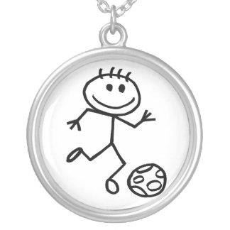 Fútbol de Stickman Collar