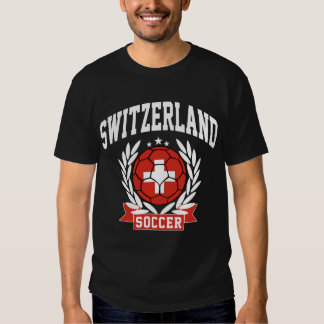 Fútbol de Suiza Playeras