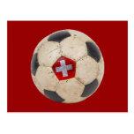 Fútbol de Suiza Tarjetas Postales