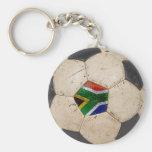 Fútbol de Suráfrica Llaveros Personalizados