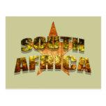 Fútbol de Suráfrica Postales