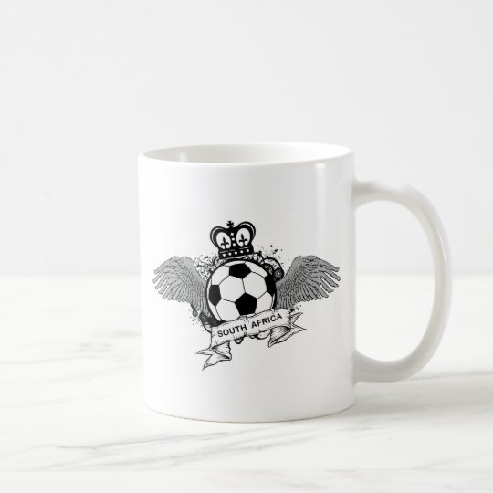 Fútbol de Suráfrica Taza De Café