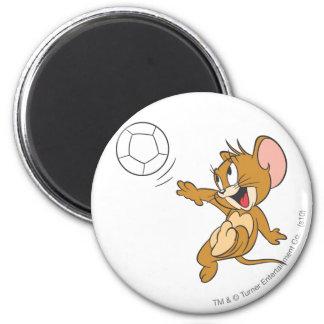 Fútbol de Tom y Jerry (fútbol) 1 Imán Redondo 5 Cm