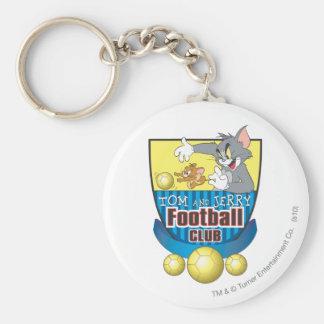Fútbol de Tom y Jerry (fútbol) 5 Llavero