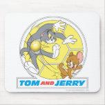 Fútbol de Tom y Jerry (fútbol) 8 Alfombrilla De Raton