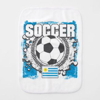 Fútbol de Uruguay Paños Para Bebé
