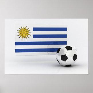 Fútbol de Uruguay Póster