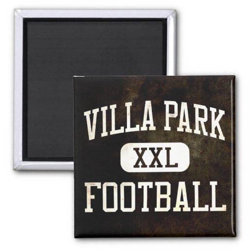Fútbol de Villa Park Spartans Imán Cuadrado