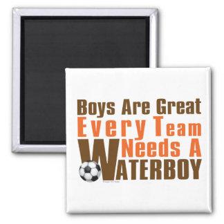 Fútbol de Waterboy Imán Cuadrado