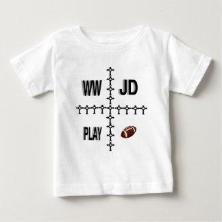 Fútbol de WWJD Tshirts
