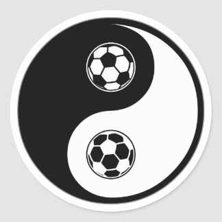 Fútbol de Yin Yang Etiquetas