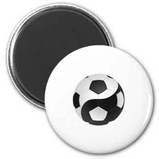 Fútbol de Yin Yang Imanes Para Frigoríficos