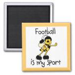 Fútbol del abejorro mis camisetas y regalos del de iman de frigorífico