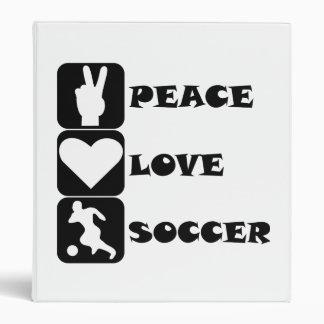 Fútbol del amor de la paz