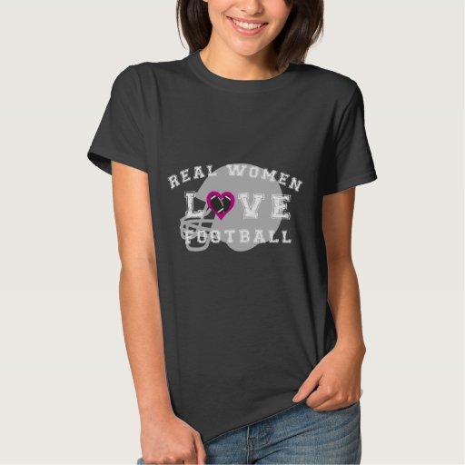 Fútbol del amor de las mujeres reales camisas