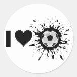 Fútbol del amor del explosivo I Etiquetas