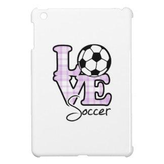 Fútbol del amor iPad mini cárcasas
