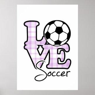 Fútbol del amor impresiones
