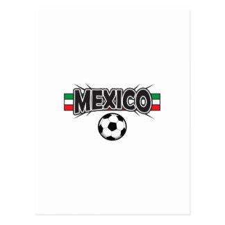 FÚTBOL DEL APPLIQUE DE MÉXICO POSTAL