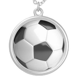 Fútbol del balón de fútbol - collar