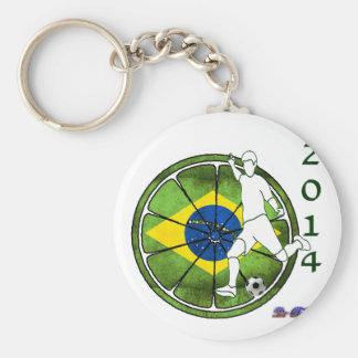 FÚTBOL DEL BRASIL 2014 REGALOS ADAPTABLES LLAVEROS PERSONALIZADOS