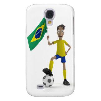 Fútbol del Brasil Funda Para Galaxy S4