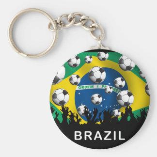 Fútbol del Brasil Llavero