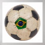 Fútbol del Brasil Poster