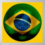 Fútbol del Brasil Posters