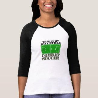 Fútbol del combate camisetas
