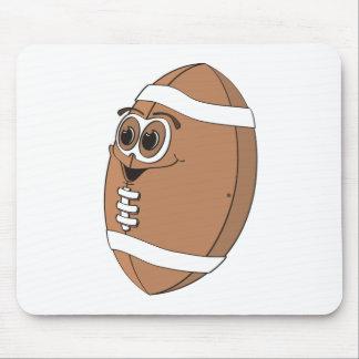 Fútbol del dibujo animado alfombrilla de ratón