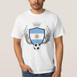 Fútbol del escudo de la Argentina Remeras