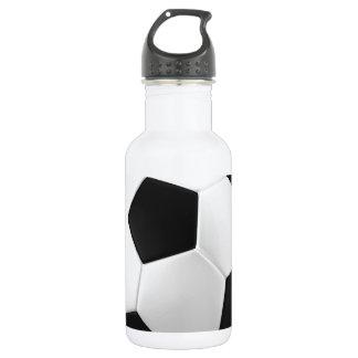 fútbol del fútbol botella de agua de acero inoxidable