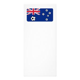 Fútbol del fútbol de bandera de Australia Tarjeta Publicitaria A Todo Color