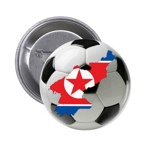 Fútbol del fútbol de Corea del Norte Pin